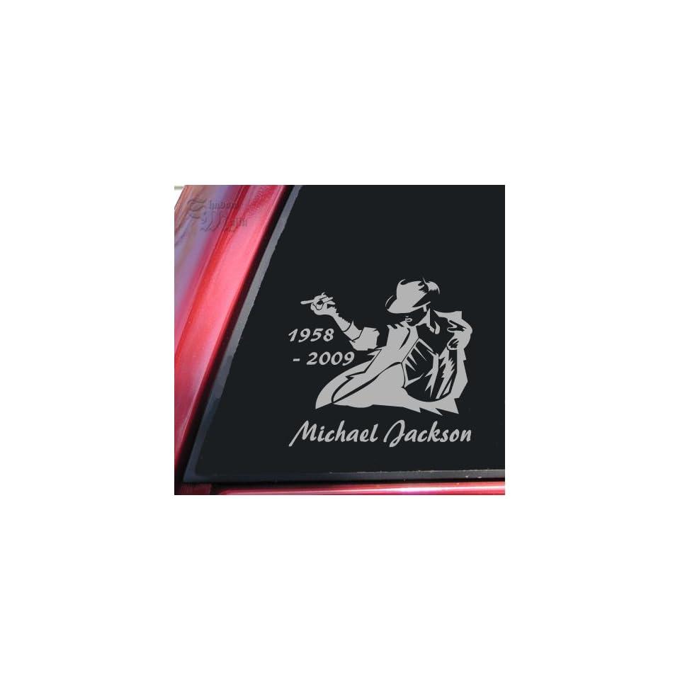 Michael Jackson 1958   2009 Vinyl Decal Sticker   Grey