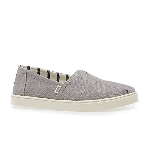 TOMS Women's Alpargata Cupsole Morning Dove Heritage Canvas Cupsole 10 B US (Sofas Brand Name)