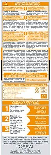 LOréal Men Expert Coloración Excell 5 - Recolorante 5 Minutos, Tono 5, Castaño Natural: Amazon.es: Belleza