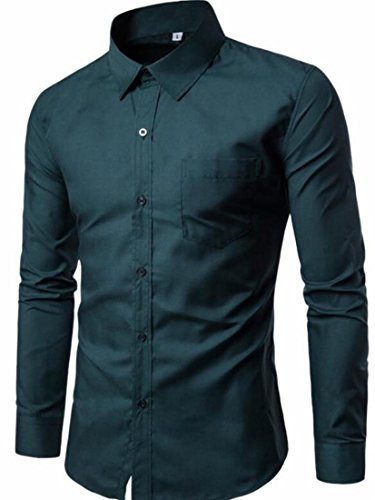 athletic fit mens dress shirts - 9
