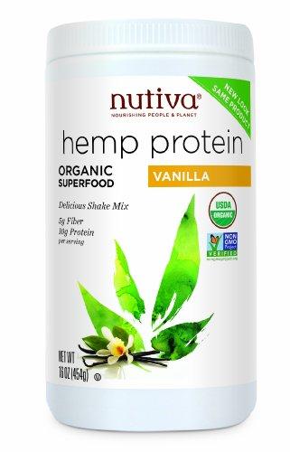 Nutiva Organic Protein Vanilla Ounce