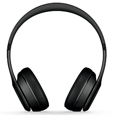 Beats by Dr. Dre SOLO 2 On Ear Headphones B0518 | Iconic Sound Tune with Emotion (Black)
