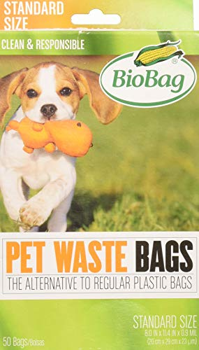 - BioBag Dog Waste Bags, 50 ct
