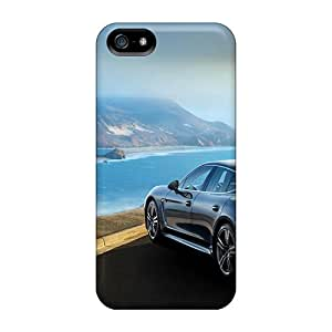 New Porsche Panamera Turbo S Tpu Case Cover, Anti-scratch DBB19105lLgR Phone Case For Iphone 5/5s