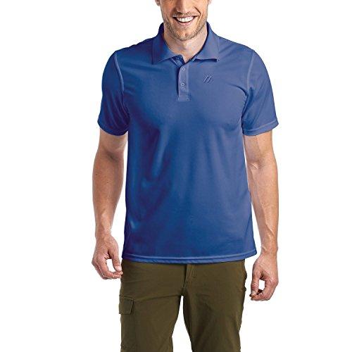 Maier Sports Herren Poloshirt blau S