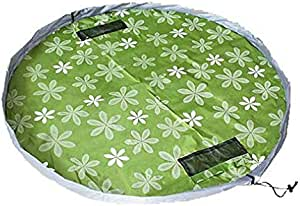 Multicolor Waterproof Oxford Kids Toys Storage Bag Picnic Mat