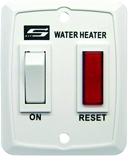 Suburban 232589 Switch with Light Assembly - White