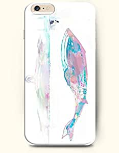 iPhone 6 Case,OOFIT iPhone 6 Plus (5.5) Hard Case **NEW** Case with the Design of Colorful Whale Floating - ECO-Friendly Packaging - Case for Apple iPhone iPhone 6 Plus (5.5) (2014) Verizon, AT&T Sprint, T-mobile by supermalls