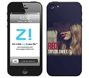Zing Revolution Taylor Swift Premium Vinyl Adhesive Skin for iPhone 5, 5S, 5C, Red Album Image, MS-TS30318