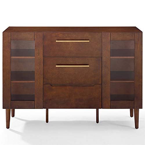 (Crosley Furniture CF4207-MA Everett Mid-Century Modern Buffet,)