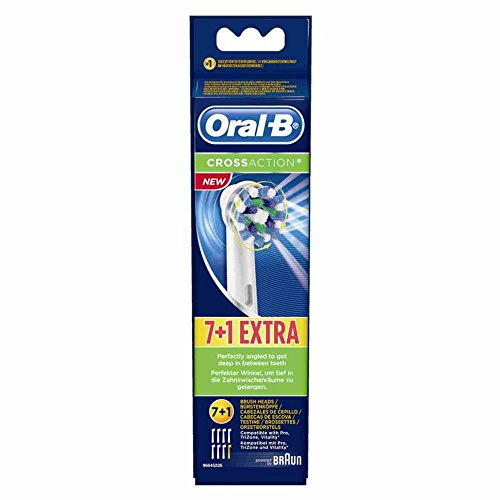 Amazon.com: Braun Oral-B Cross Action Replacement Toothbrush Heads by Oral-B: Health & Personal Care