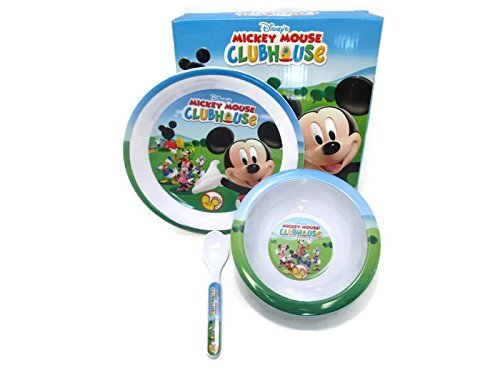 - Mickey Mouse Clubhouse Kids Plate Set