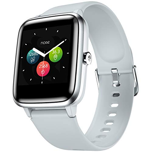 Noise ColorFit Pro 2 Smart Watch with Full Touch Control, 1.3″ Color Display, 10 Day Battery, 24×7 Heart Rate Monitoring, IP68 Waterproof, 9 Sports Mode (Mist Grey)
