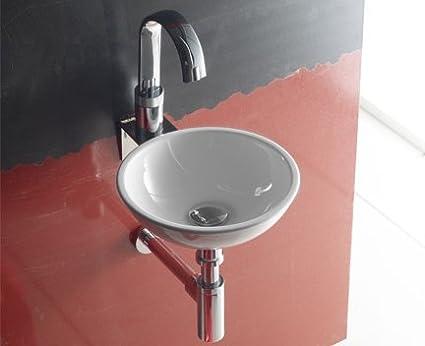 The Bath Collection-Lavandino tondo piccolo moon 305 x 105 mm