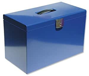 Pierre Henry Homefile 040122  - Caja archivadora para carpetas colgantes (A4/folio 425 x 230 x 275 mm) color azul
