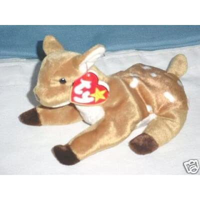 Ty Bean Bag Beanie Baby Whisper the Deer: Toys & Games