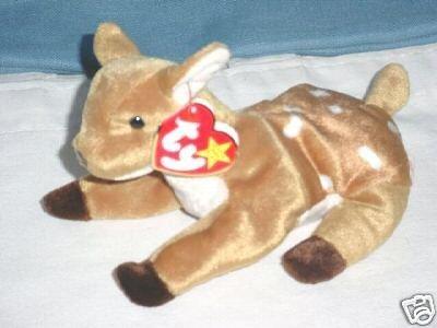 (Ty Bean Bag Beanie Baby Whisper the Deer)