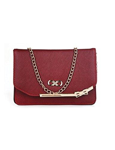 Osye Women Fashion Handbags Shoulder Bags-wine Red