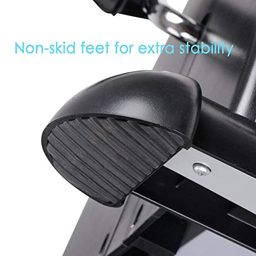 AW Indoor Exercise Bike Resistance Adjustable Mini Pedal Exerciser w/LCD Display by AW (Image #5)