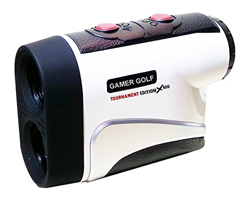 Gamer Golf V400 Laser Range Finder with Advanced Pin Seeking Technology
