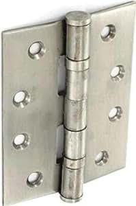 Bisagras de acero inoxidable para Securit doble Washered (par)- 75 mm