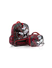 Heys Star Wars Imperial Patrol Brand New Exclusive Designed Multicolored Kids Backpack with Lunch Kit Box