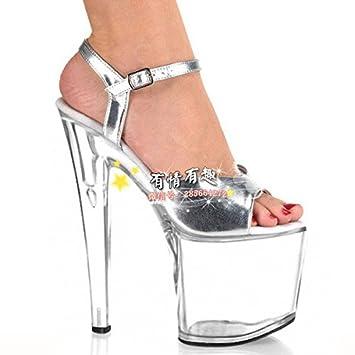 sobornar auténtico 60% de liquidación mejor elección Super tacones de 20 cm bien con sandalias y zapatos de ...