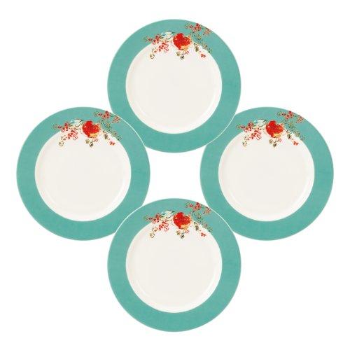 Lenox Simply Fine Chirp 4-Piece Dessert Plate Set