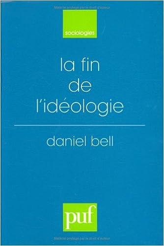 Read La fin de l'idéologie pdf epub