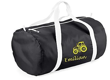 Bolsa de deporte redondos con nombre & Diseño: Bulldog - fr ...