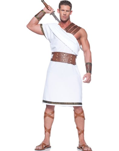 Greek Warrior Adult Costume - One Size