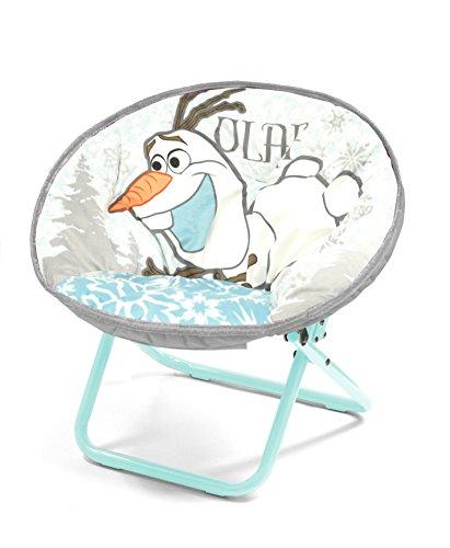 Disney WK318651 Frozen Olaf Mini Saucer Chair White