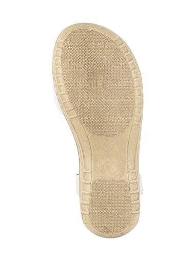 Donne Caprice Sandalette Bianco