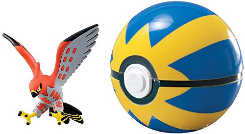 Pokémon Clip & Carry Poké Ball Talonflame + Quick Ball