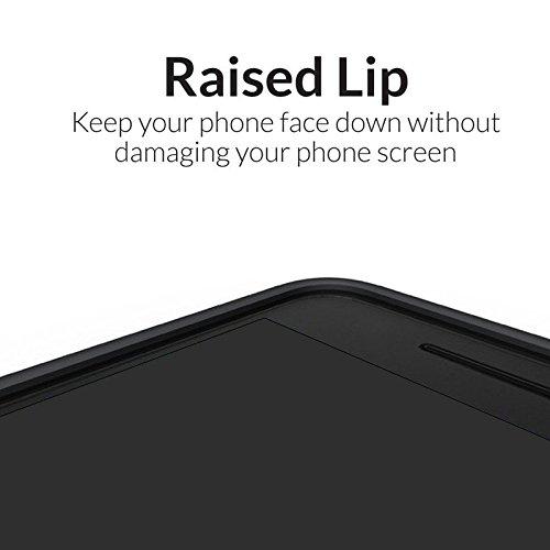 Orzly® Grip-Pro Case para MOTO G4 & G4 PLUS SmartPhone (2016 Lenovo / Motorola Modelo Teléfono Móvil) - Funda durable y ligero Capa Doble de mayor agarre y defensa - ROJO blue
