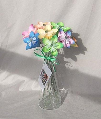 Custom Paper Flower Bridal Bouquet   aftcra   500x423