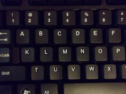 Amazon E Z Keyboard English Alphabetical Order Computers Accessories