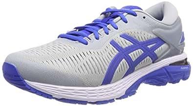 Asics Gel-Kayano 25 Lite-Show, Zapatillas de Running para Hombre, Gris (Mid Grey/Illusion Blue 020), 40 EU