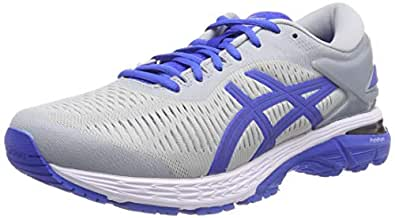 ASICS Australia Gel-Kayano 25 Lite-Show Men's Running Shoe, Mid Grey/Illusion Blue, 8 US