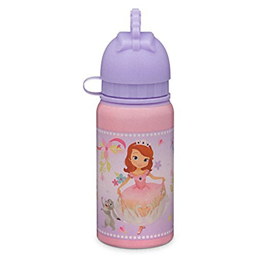 Sofia and Amber Aluminum Water Bottle - Small