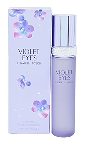 Elizabeth Taylor Violet Eyes Perfume for Women 1.7 oz Eau De Parfum Spray - Elizabeth Taylor Rose Body Lotion