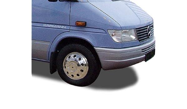 16 Pulgadas Tapacubos (4 unidades + válvula Extensiones Acero Inoxidable fahrzeugspezifisch para zwillingsbereifte coches o furgonetas y: Amazon.es: Coche y ...