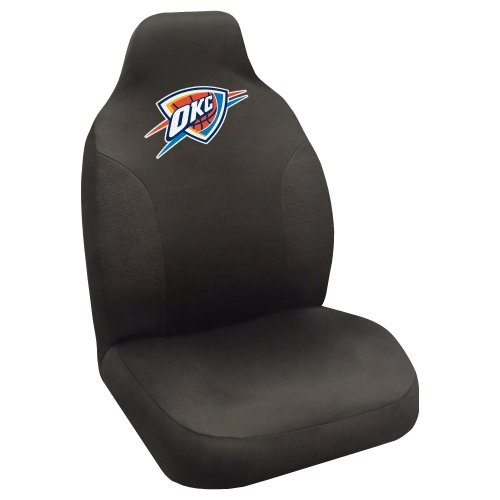 FANMATS NBA Oklahoma City Thunder Polyester Seat Cover by Fanmats