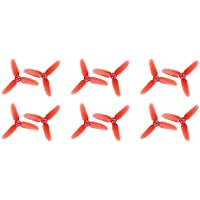 UUMART Three Blade Propellers for Walkera Rodeo 110 FPV Racing Quadcopter Spare Parts 12Pcs Black 110-Z-01