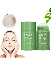 Green Tea Purifying Clay Stick Mask Oil Control Anti-Acne, Blackhead Remover, Face Moisturizes Oil Control, Deep Clean Pore, Improves Skin,for All Skin Types Men Women