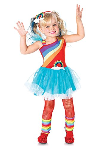 Rainbow Bright Costumes (Leg Avenue Children's Rainbow Doll Costume)