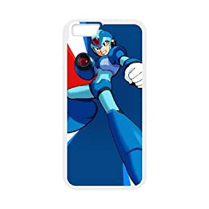 iphone6 plus 5.5 inch White phone case Video Games Mega Man VGS1739398