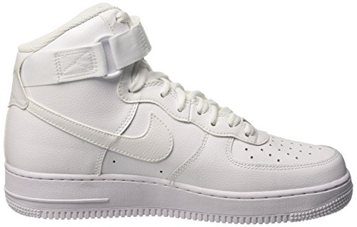 Blue White White Shoes Cass Blanc Air 1 Force High NIKE Blanco Basketball Men's '07 wOZ0q78nq