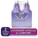 Swiffer Wetjet Spray Mop Floor Cleaner Multi-Purpose Solution Febreze Lavender & Vanilla Comfort Scent 2 Pack Of 42.2 Oz Each