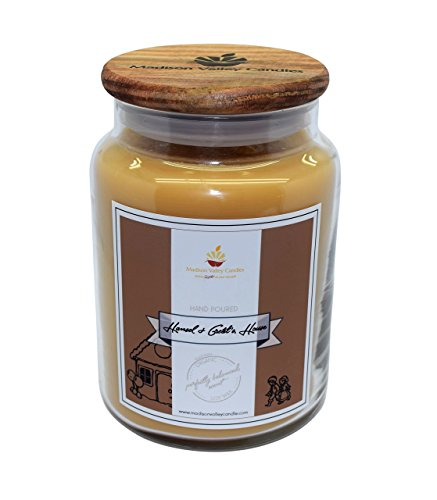 (Strong Scented Hansel and Gretel's Soy Candle 26oz By Madison Valley Soy Candle Company)